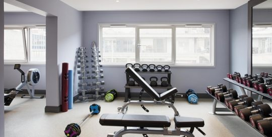 Glasgow Juvenate Free Weights Facility