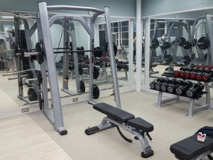 Oxford Gym Free Weights Area